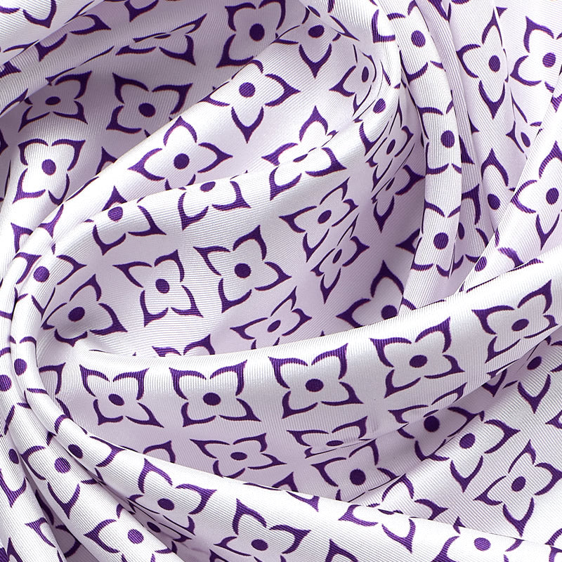 Geometric Beautiful Silk Scarf XIV-ANTORINI®
