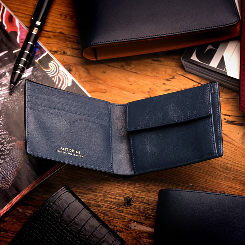 Men's Wallet ANTORINI in Navy-ANTORINI®