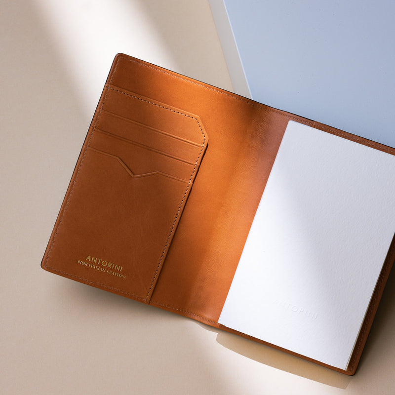 2021 Pocket Diary or Refillable Notebook, A7, Brown-ANTORINI®