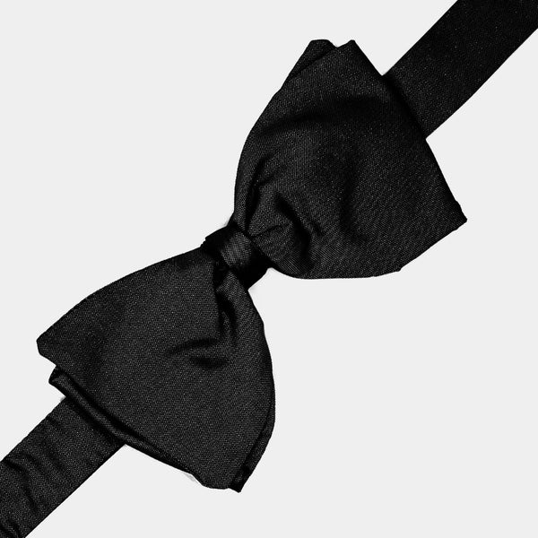 Black Silk Bow Tie-ANTORINI®