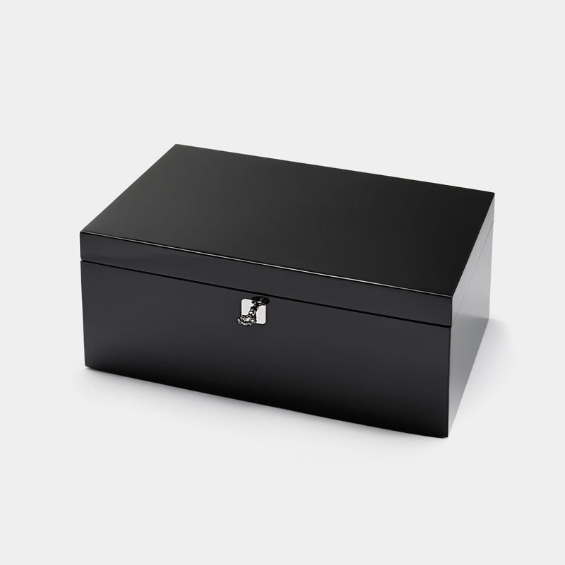 Pocker Chip box in Black Lacquer-ANTORINI®