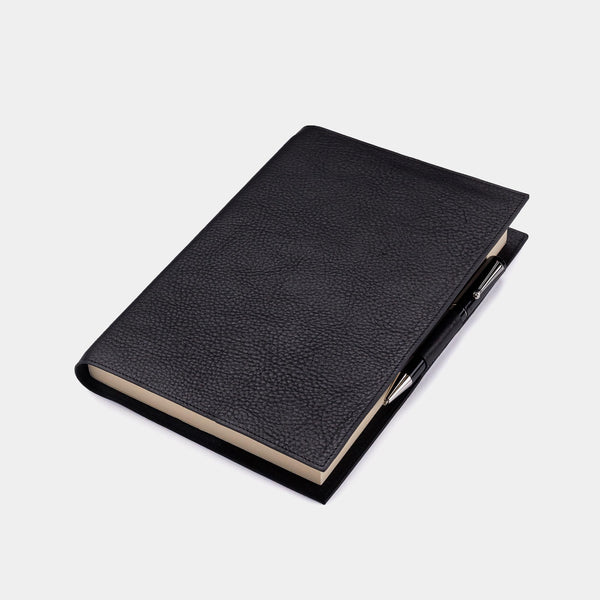 Leather Refillable Diary in Bison Leather-ANTORINI®