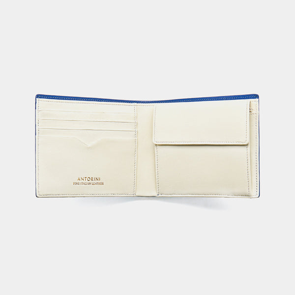 Men´s Wallet ANTORINI Elite in Blue and Ivory-ANTORINI®