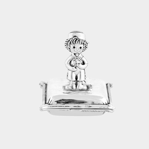 Silver Boy´s Tooth Box, Silver 925/1000 27 g-ANTORINI®