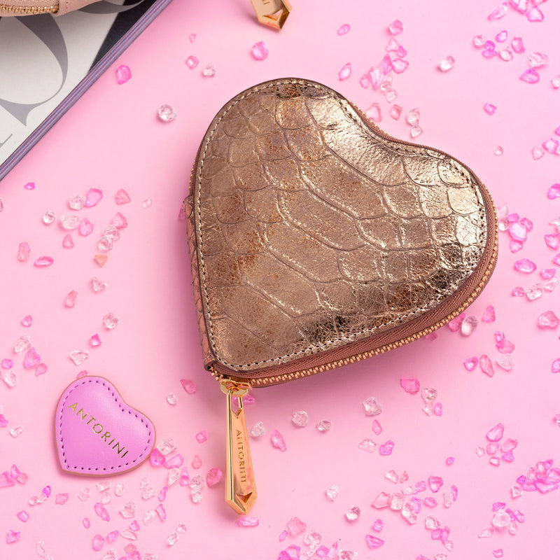 Coin Purse in Bronze
