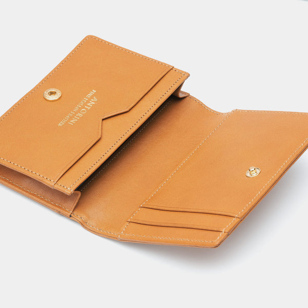 Credit and Business Card Holder in Camel-ANTORINI®