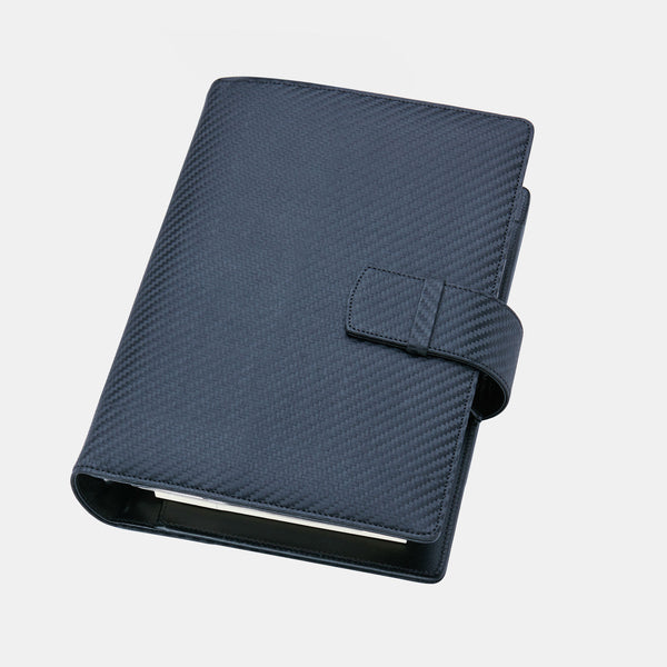Leather Manager A6 Agenda in Carbon Leather-ANTORINI®