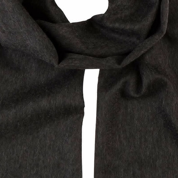 Men's Cashmere Scarf in Dark Grey