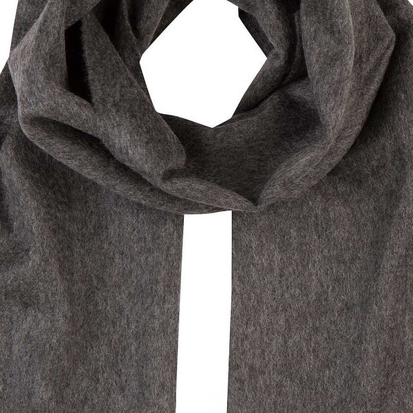 Men's Cashmere Scarf in Grey