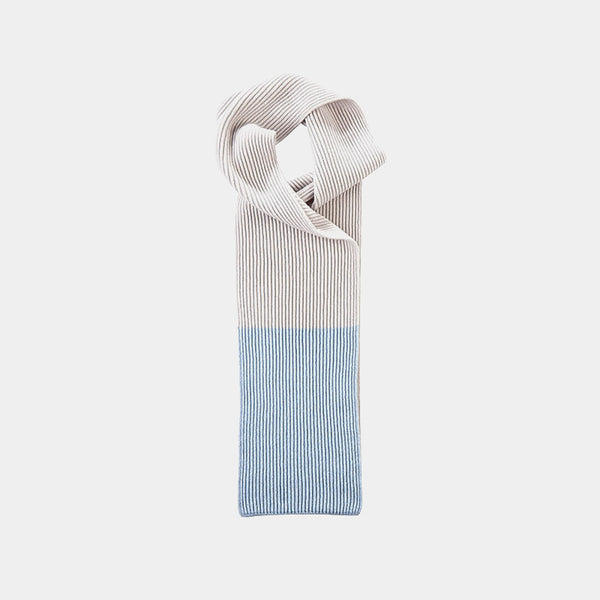 Cashmere Scarf Spectrum in Sky Blue-ANTORINI®