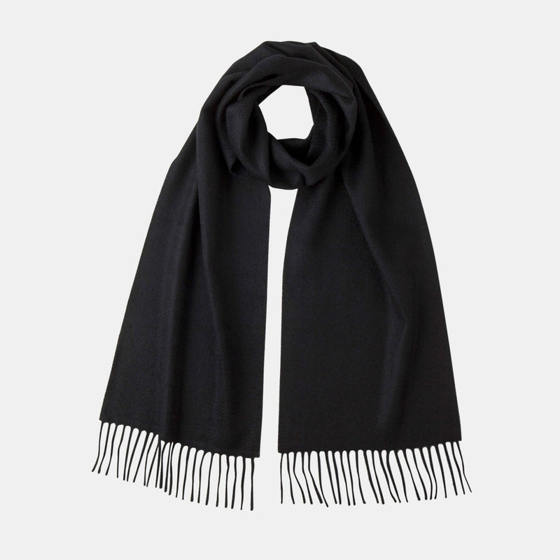 Luxury Cashmere Scarf in Black-ANTORINI®