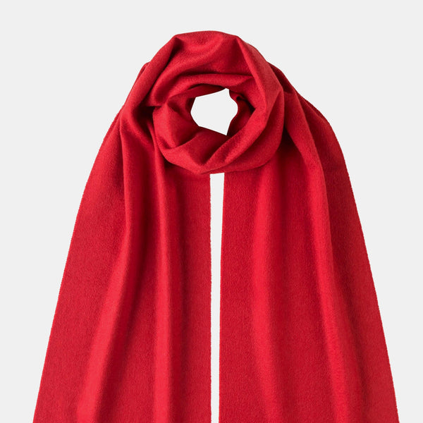 Red Cashmere Scarf-ANTORINI®