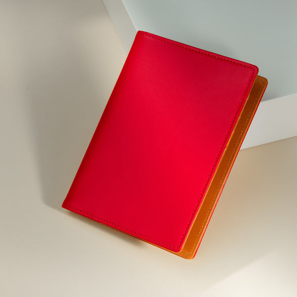 Pocket Diary or Refillable Notebook, A7, Red-ANTORINI®