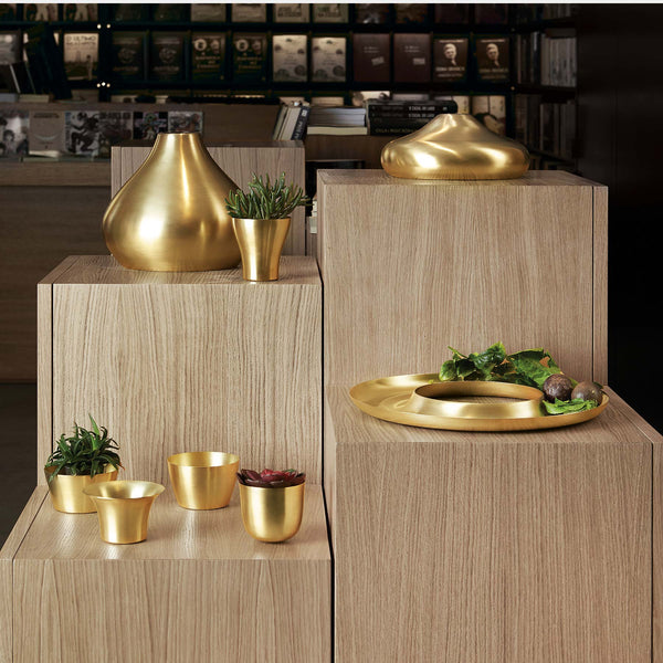 Luxury Round Center Piece, Brass-ANTORINI®