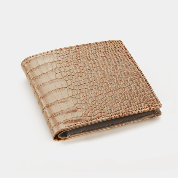 Men´s Wallet ANTORINI Elite in Grey Croc-ANTORINI®