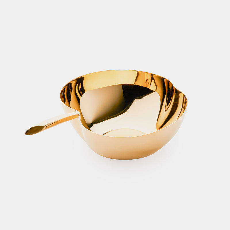 ANTORINI Big Apple Bowl, gold plated-ANTORINI®