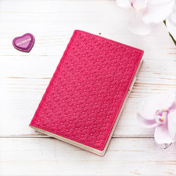 Lovely A6 Diary in Fuchsia and Ivory-ANTORINI®