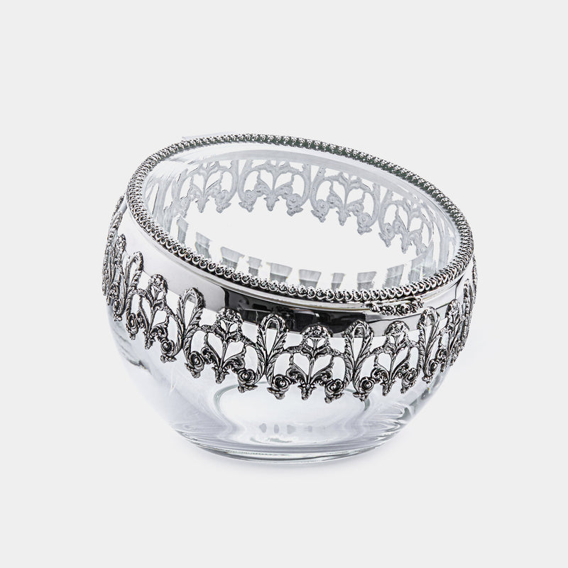 Silver Plated Round Box-ANTORINI®