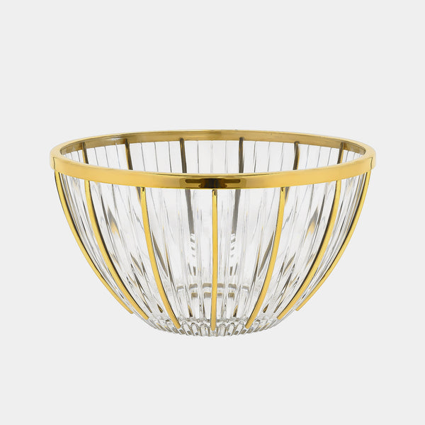 Fruit Bowl Golden Rays, Silver 925/1000, 290 g, gold-plated-ANTORINI®