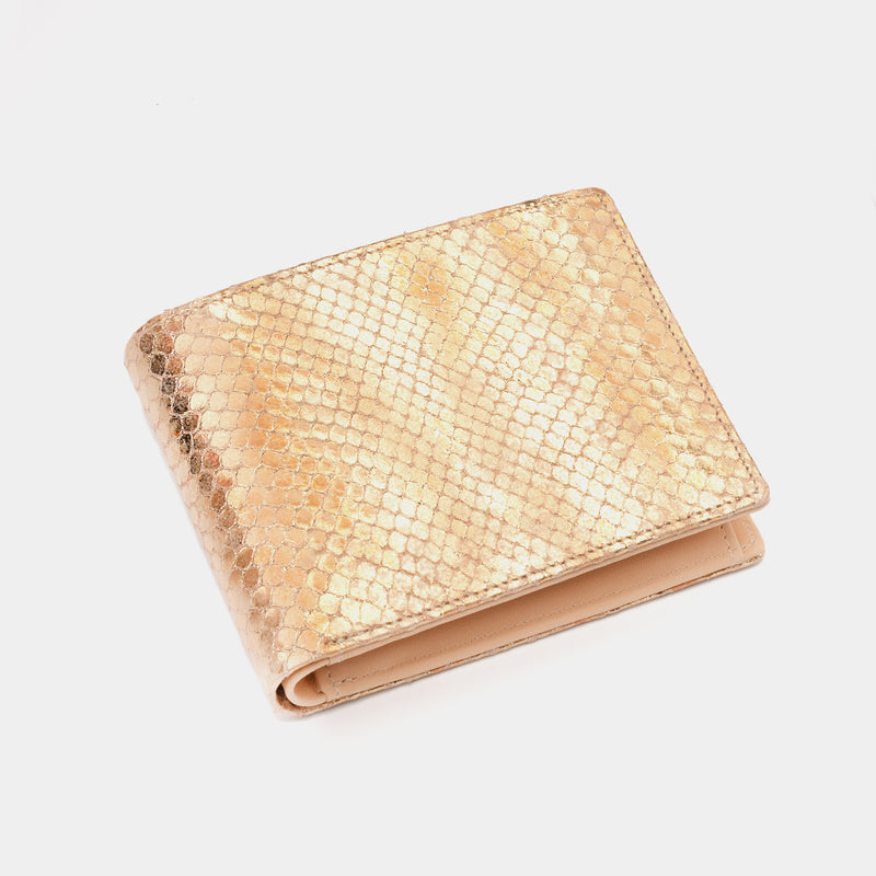 Men's Leather Wallet Essence in Gold-ANTORINI®