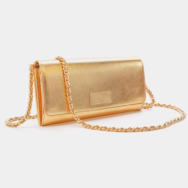 Luxurious Concetta Wallet in Gold-ANTORINI®