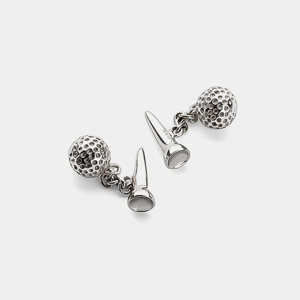 Men's Silver Cufflinks, Golf-ANTORINI®