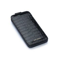 iPhone 7 Case in Black Croc-ANTORINI®