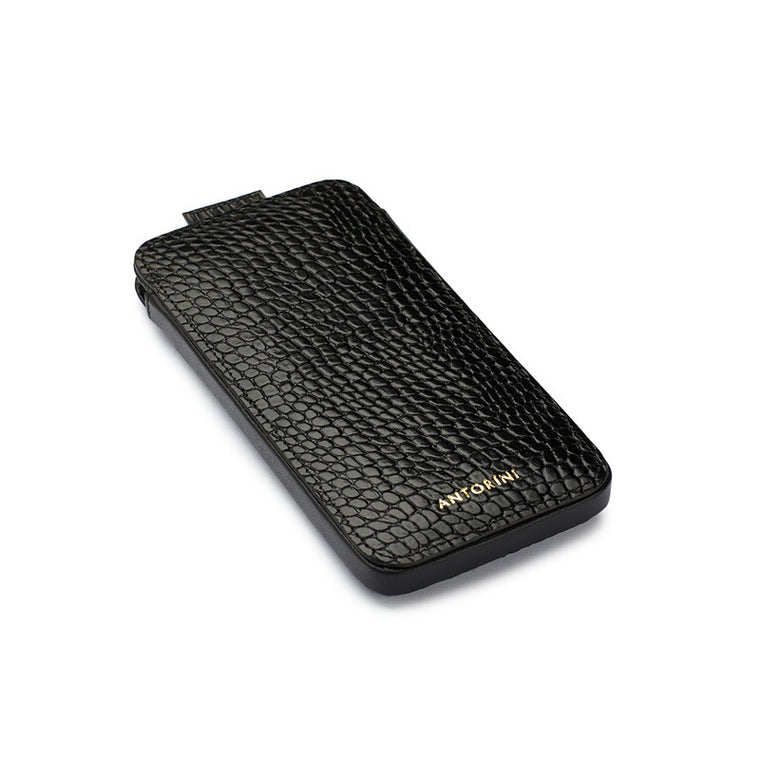 iPhone 7 Case in Black Croc