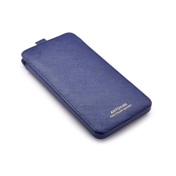 iPhone 7 Plus Case in Blue Saffiano-ANTORINI®