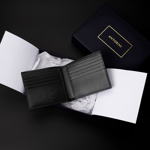 Bifold Wallet in Black-ANTORINI®