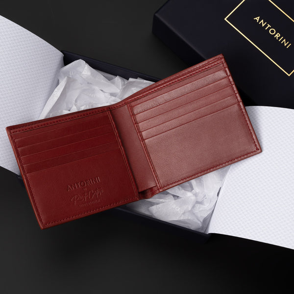 Bifold Wallet in Amaranth-ANTORINI®