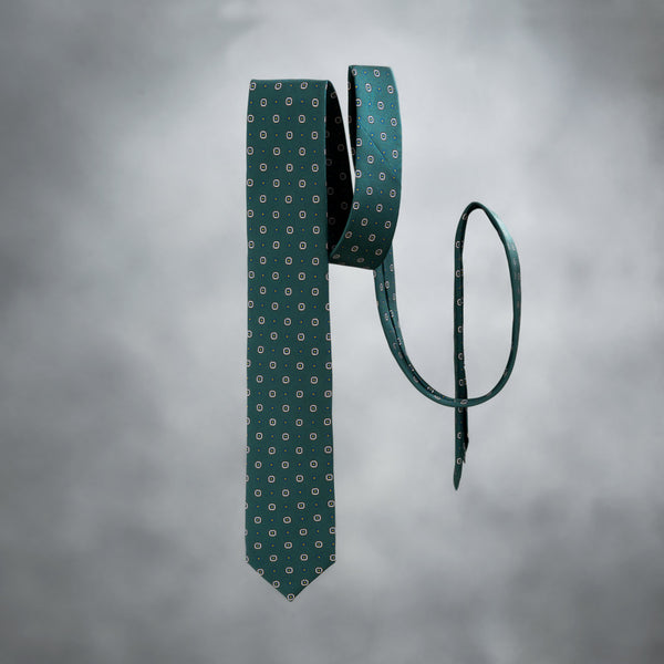 ANTORINI Silk Tie in Green-ANTORINI®