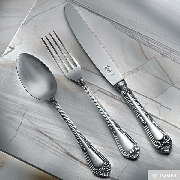 Silver Cutlery, Joao V., 24 pieces for 6 people