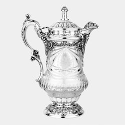 Crystal Pitcher Grandioso, Silver-Plated Decorations-ANTORINI®