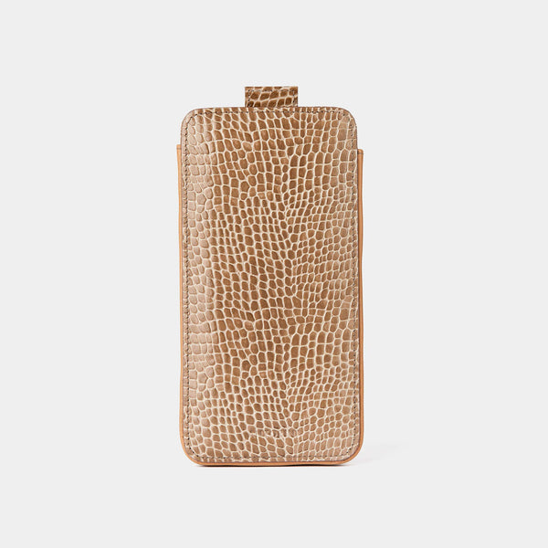 iPhone 8 Case in Chanterelle Croc-ANTORINI®