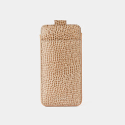 iPhone 8 Plus Case in Chanterelle Croc-ANTORINI®