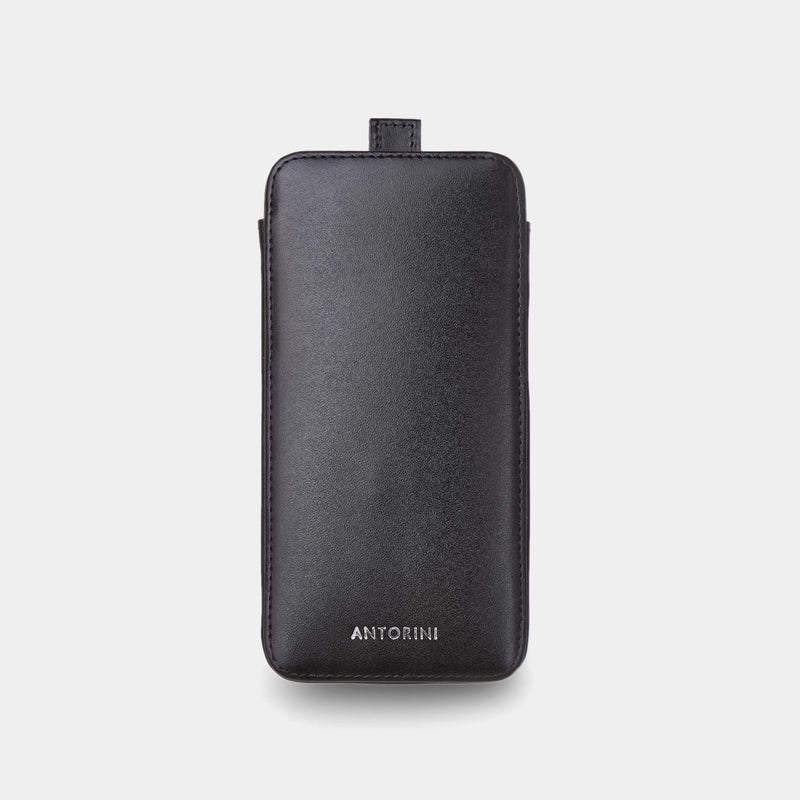 iPhone 8 Plus Case in Black Satin-ANTORINI®