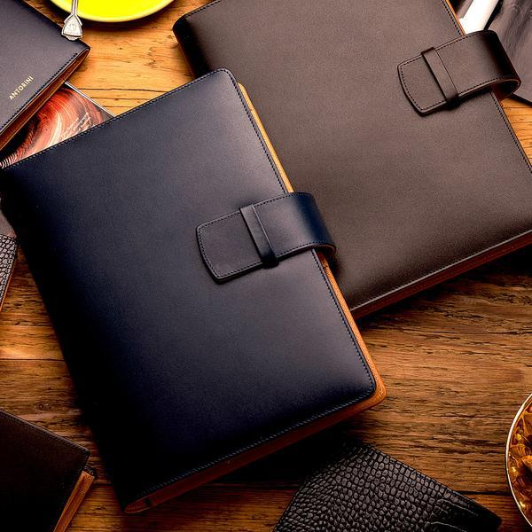 Luxury A5 leather notebook