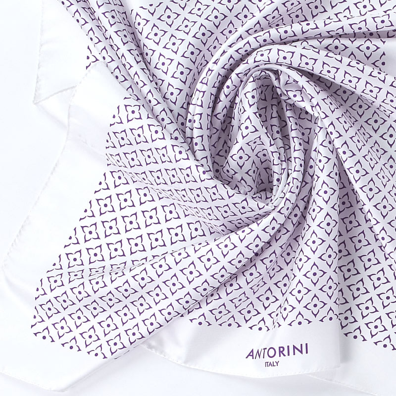 Geometric Beautiful Silk Scarf XIV