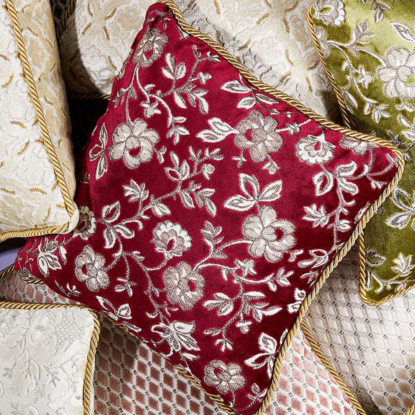 Luxury Pillow, Vintage Ruby, 50 cm-ANTORINI®