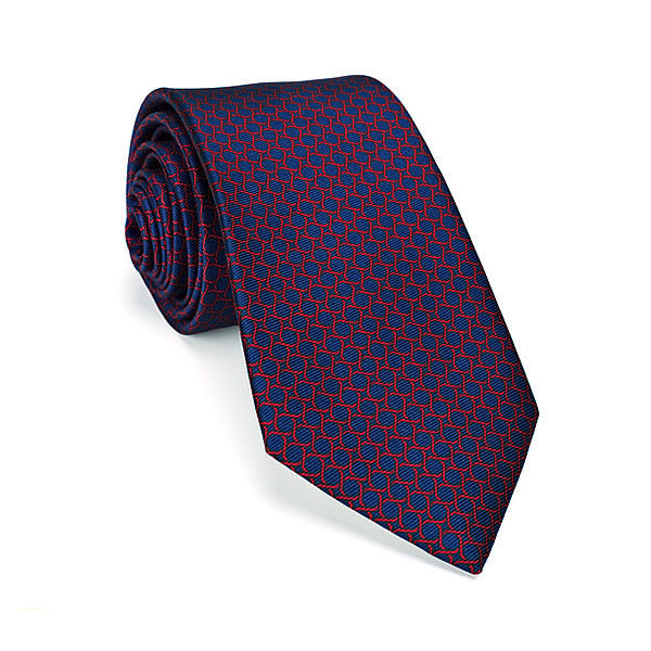 Italian Silk Tie in Blue