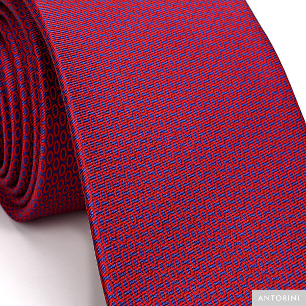 Italian Silk Tie in Exclusive Red