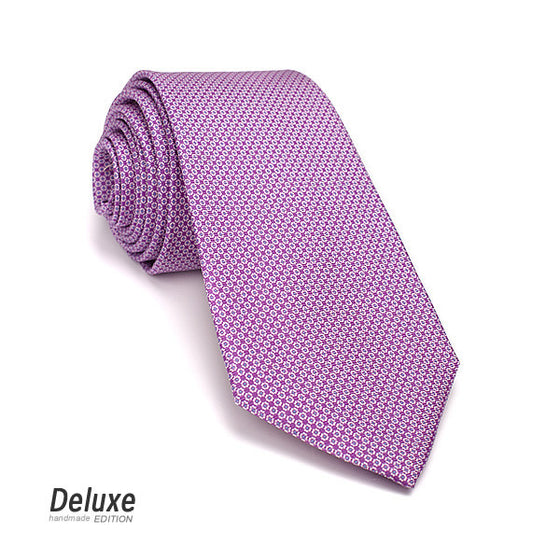 Italian Silk Tie in Purple