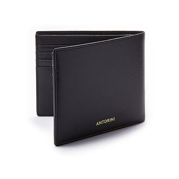 Men´s Billfold Wallet ANTORINI in Black Terre