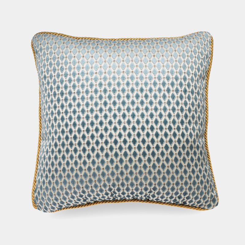 Luxury Pillow, Diamond Blue, 50 cm-ANTORINI®