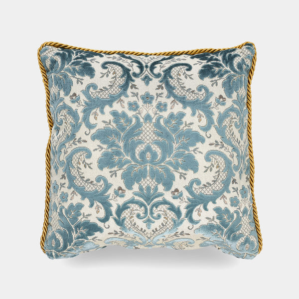 Luxury Pillow, Vintage Blue, 50 cm-ANTORINI®
