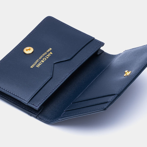 Credit and Business Card Holder in Navy-ANTORINI®