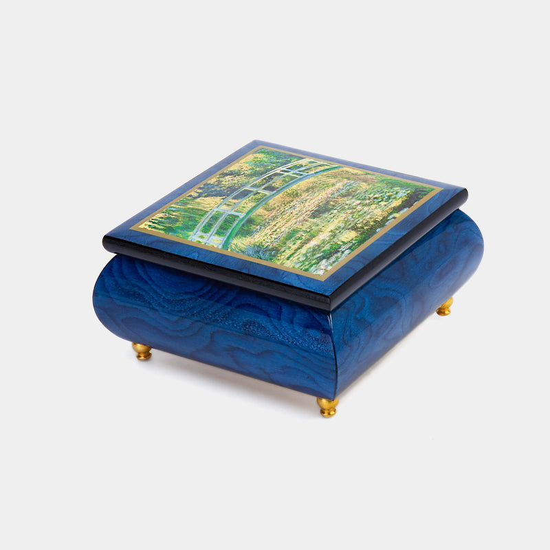 "Music Jewellery Box with Motive of "" The Water Lily Pond""-ANTORINI®"