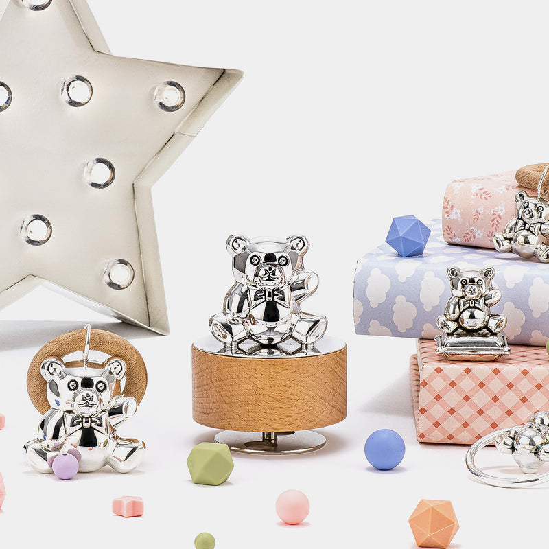 Music Box with Teddy Bear and Lullaby Song-ANTORINI®
