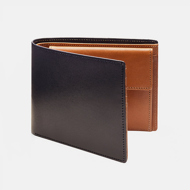 Men's Wallet ANTORINI in Dark Brown and Cognac-ANTORINI®